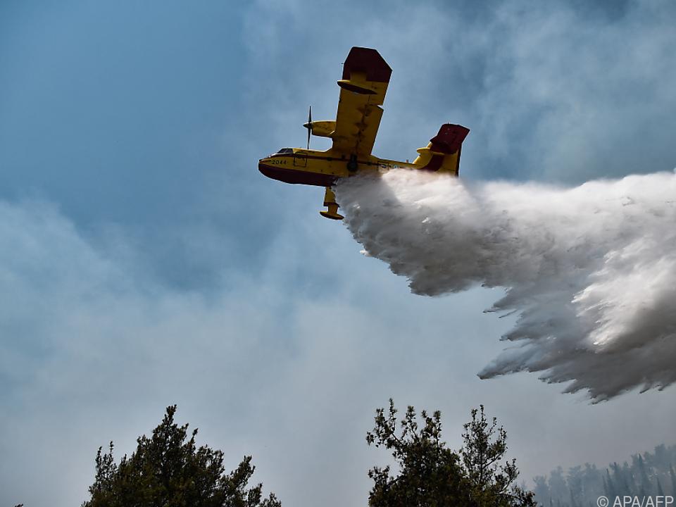 Canadair-Flieger dringend benötigt