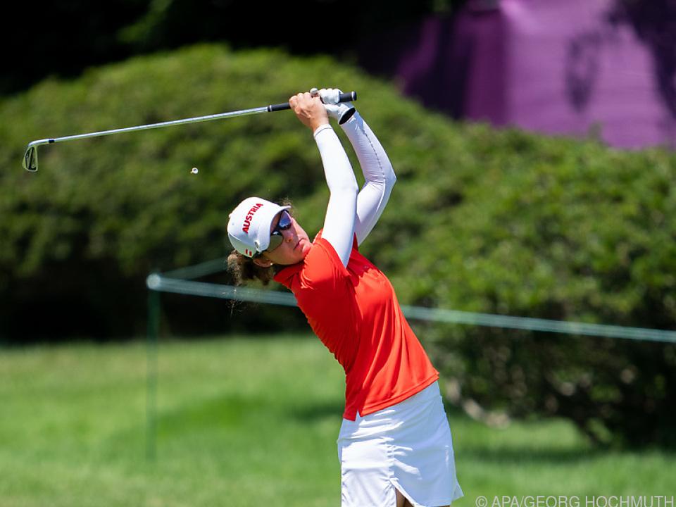 Christine Wolf kassierte auf der dritten Runde zehn Schlagverluste