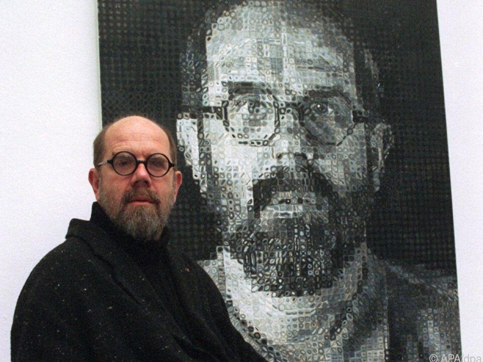 Close war insbesondere für seine Porträts bekannt