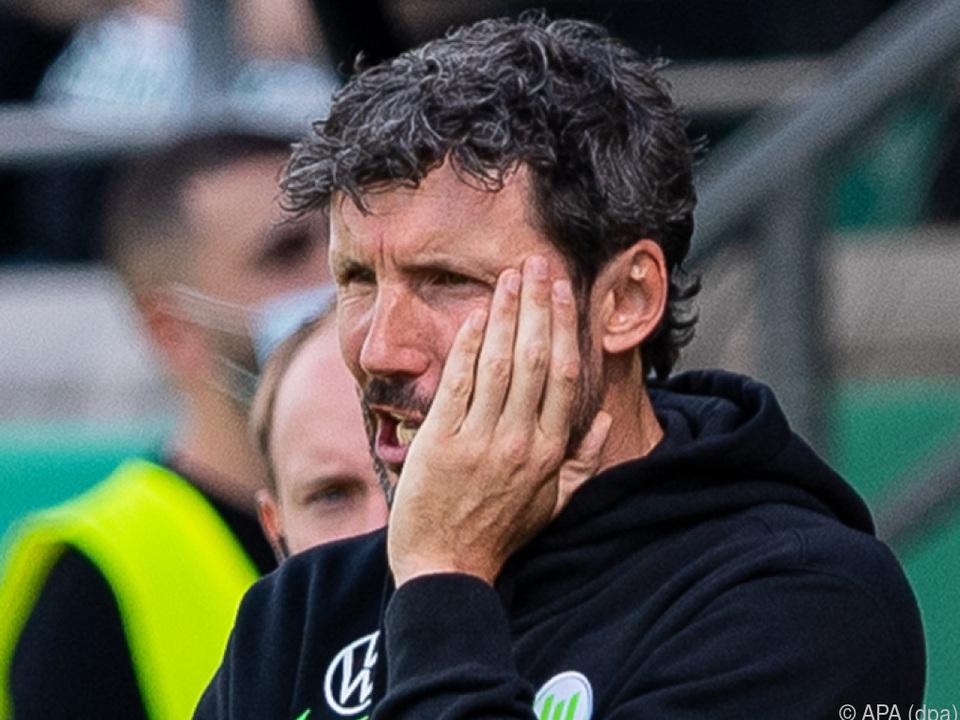 Cup-Aus am Grünen Tisch für Wolfsburg-Coach Van Bommel