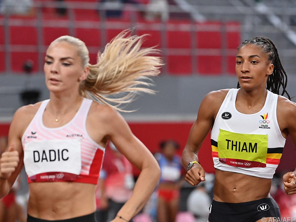 Dadic schaffte Platz 8, Thiam lief zu Gold