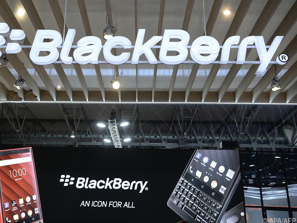 Das Problem betrifft ältere Versionen der BlackBarry-Software