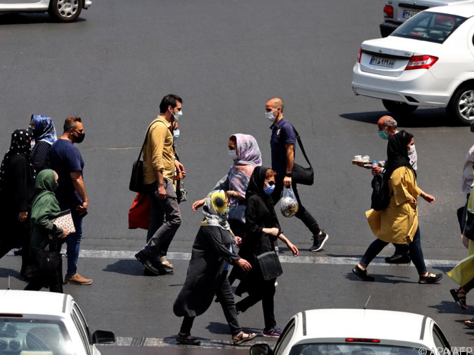 Delta-Variante sorgt für neue Höchstwerte im Iran