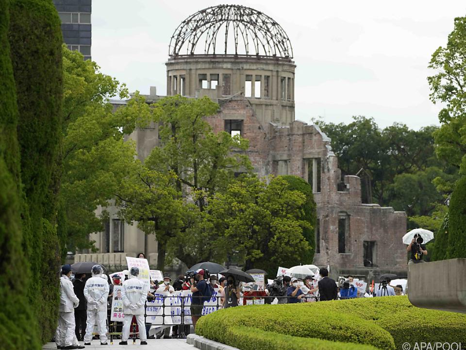 Der Gedenkort in Hiroshima