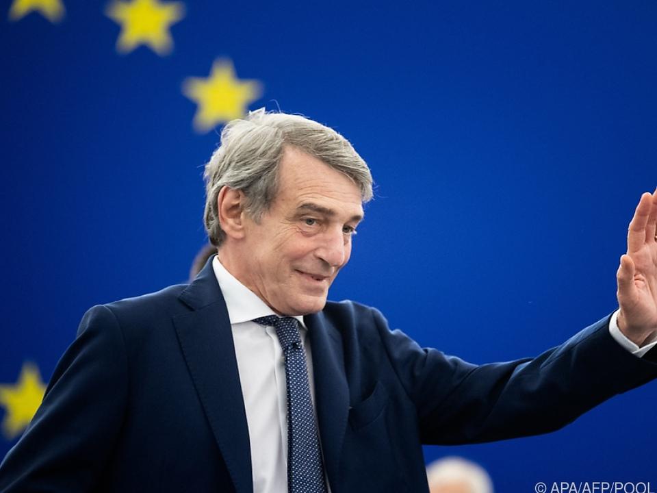 Der Italiener Sassoli setzt sich für die Medienfreiheit in Polen ein