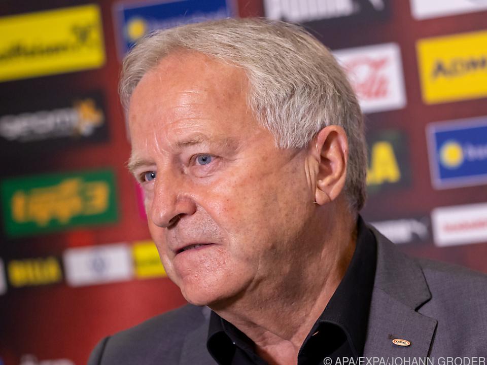 Die Ära Windtner als ÖFB-Präsident geht nach zwölf Jahren zu Ende