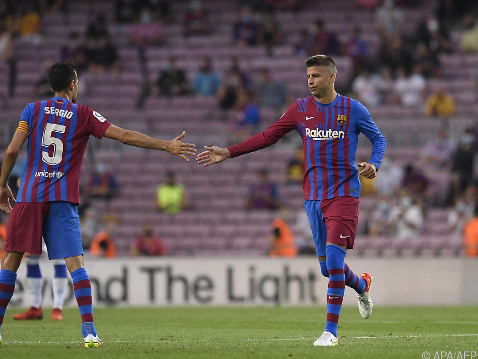 Die Barca-Kapitäne kommen ihrem Club entgegen