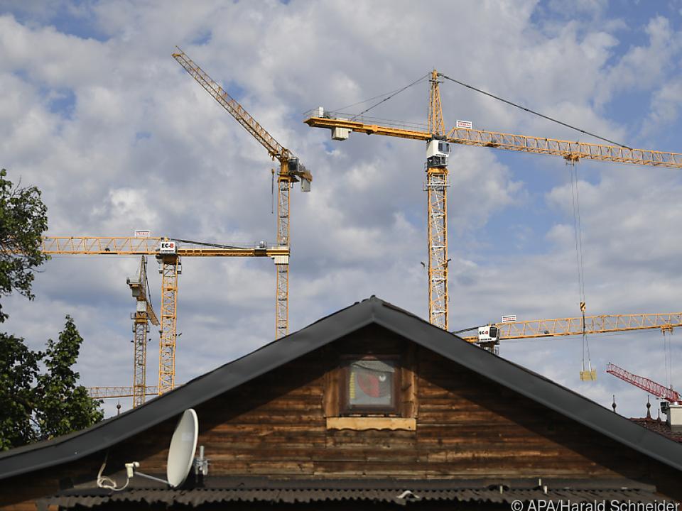 Die Baukosten steigen ungebremst