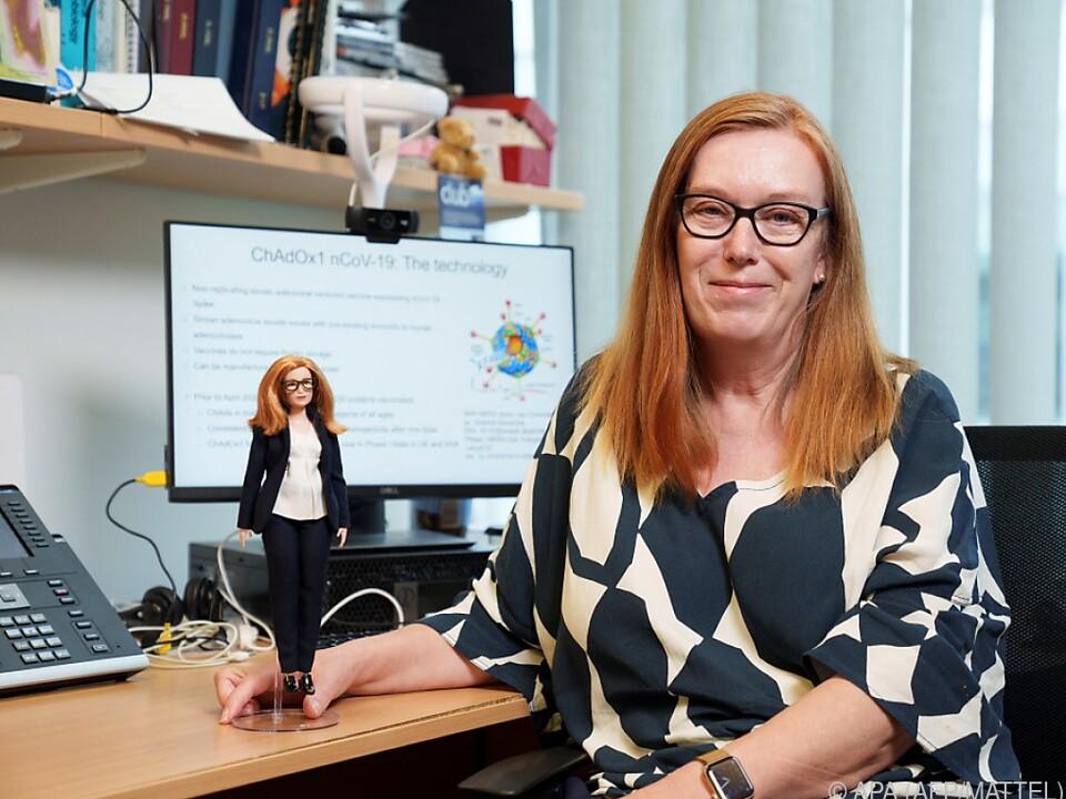Die neue Barbie-Puppe und ihr Vorbild