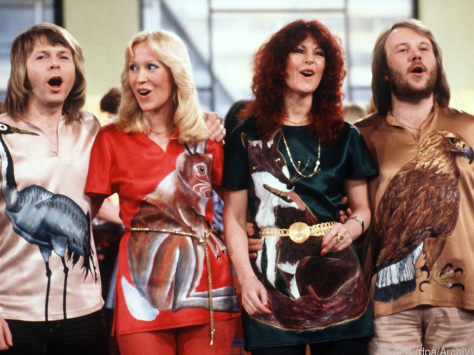 Die schwedische Popgruppe ABBA kommt zurück
