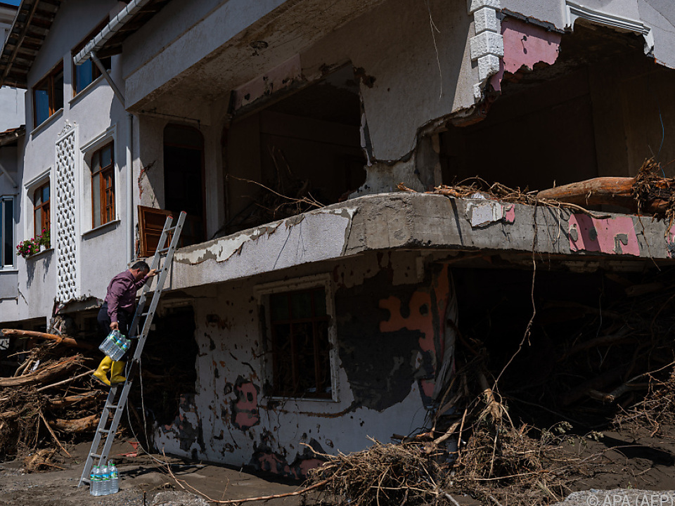 Die Stadt Bozkurt wurde teilweise zerstört