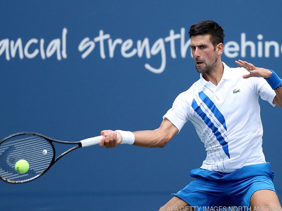 Djokovic will in New York den \