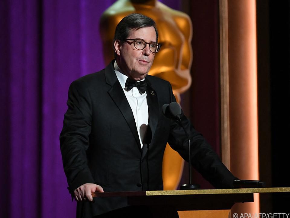 Dritte Amtszeit für Oscar-Chef David Rubin