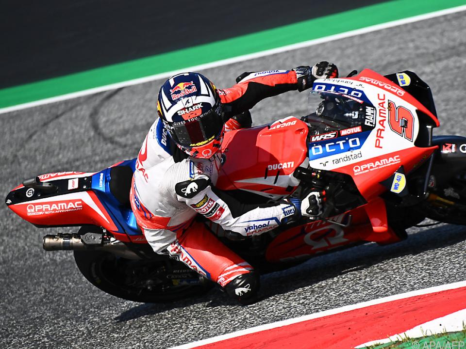Ducati-Pilot Zarco eröffnete Österreich-GP mit Rekordrunde