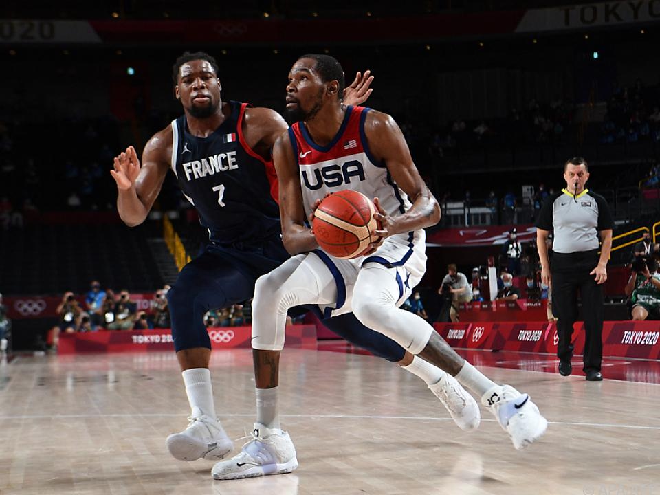 Durant führte Team USA zu Gold