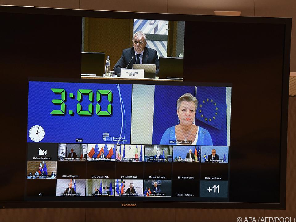 EU-Innenkommissarin Johansson will sichere Fluchtrouten schaffen
