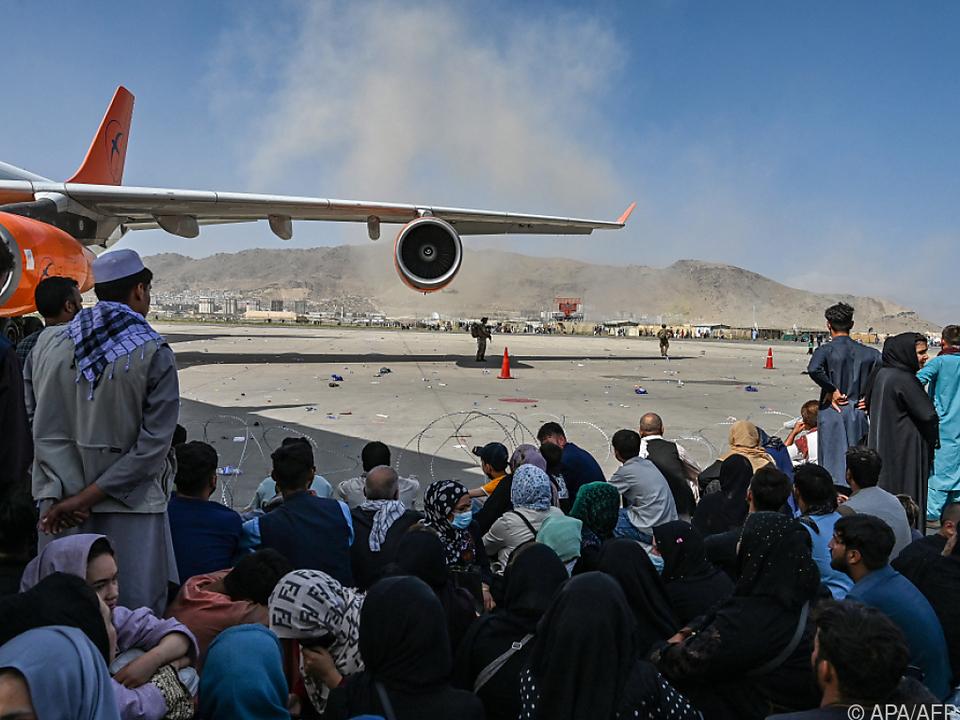 Flughafen Kabul (Archivbild von Mitte August)