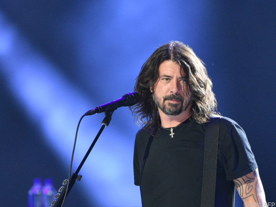 Foo Fighters-Frontmann Dave Grohl