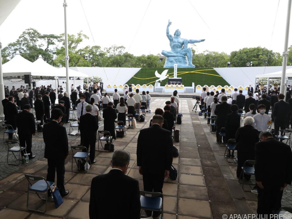 Gedenkzeremonie in Nagasaki