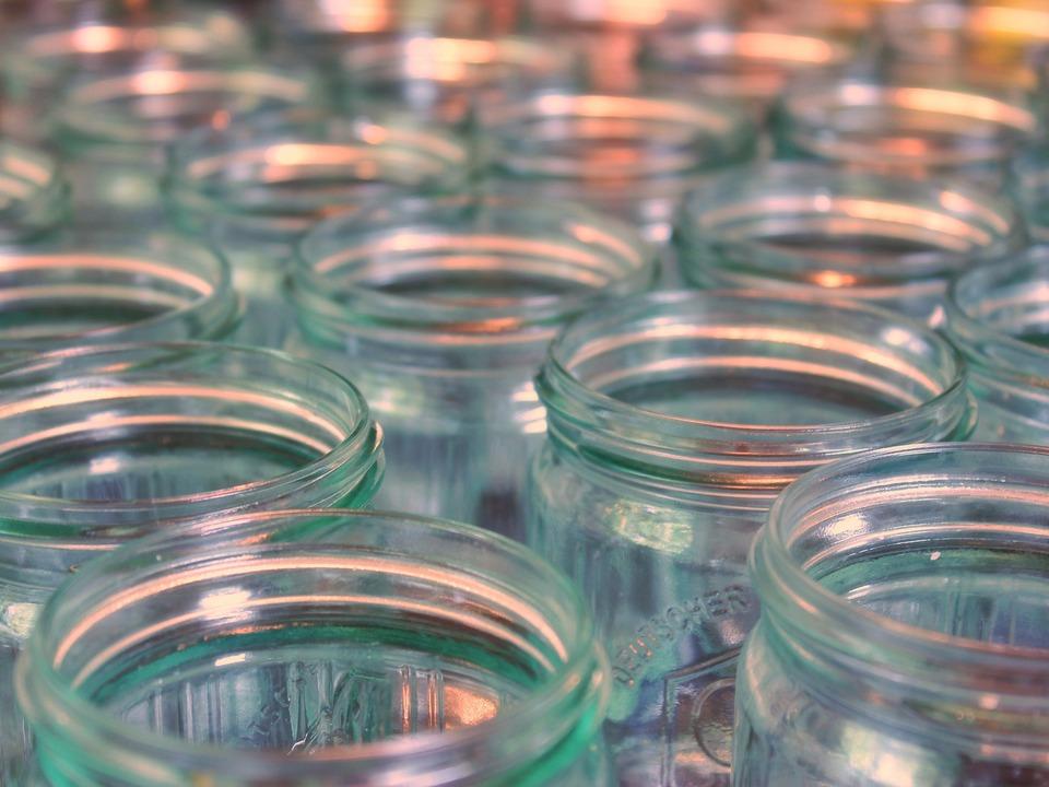 Glas einmachen