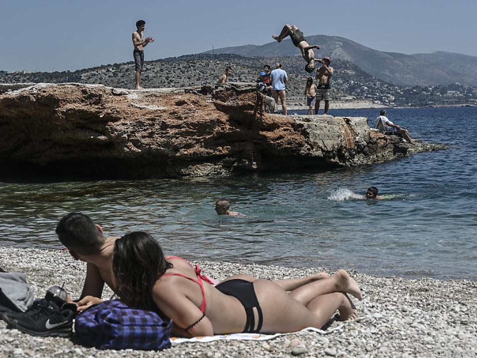 Griechischer Tourismus verdient noch nicht so gut wie vor der Krise