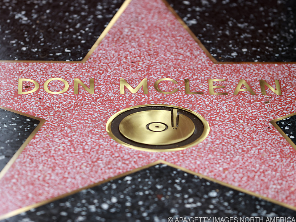 Große Ehre für Don McLean