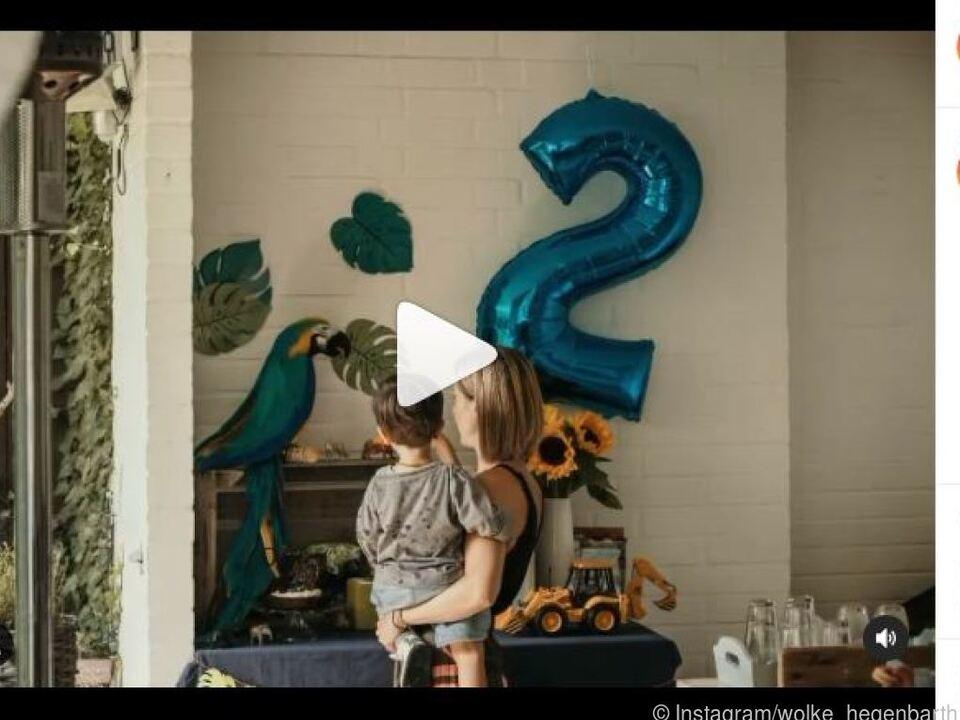 Hegenbarth postete Fotos von der Geburtstagsfeier