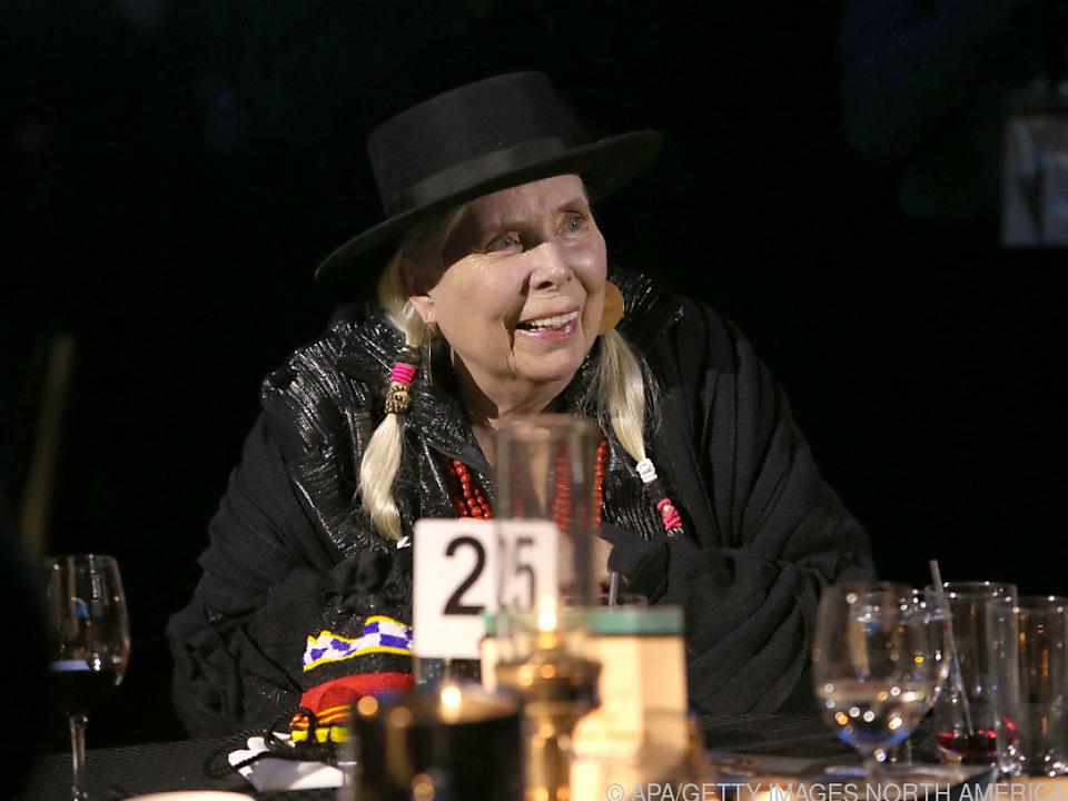 Hohe Auszeichnung für 77-jährige kanadische Sängerin