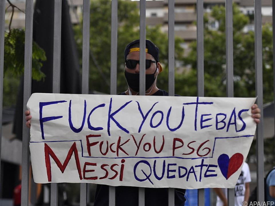 In Barcelona hofft man vergeblich auf Messis Verbleib