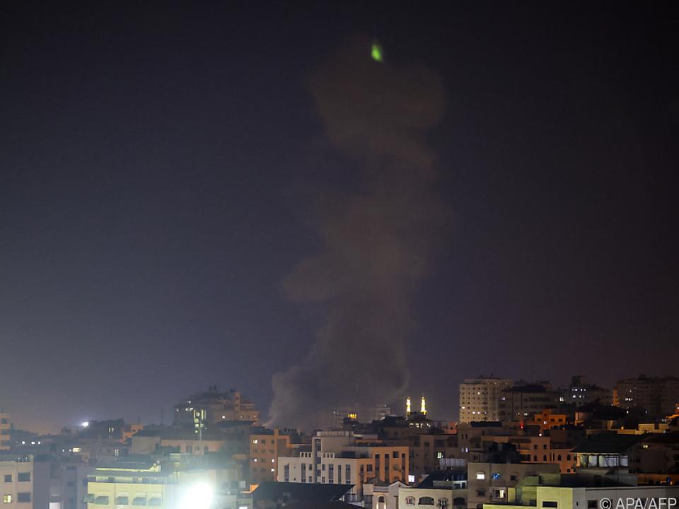 Israel antwortet mit Luftangriffen auf Hamas-Stellungen