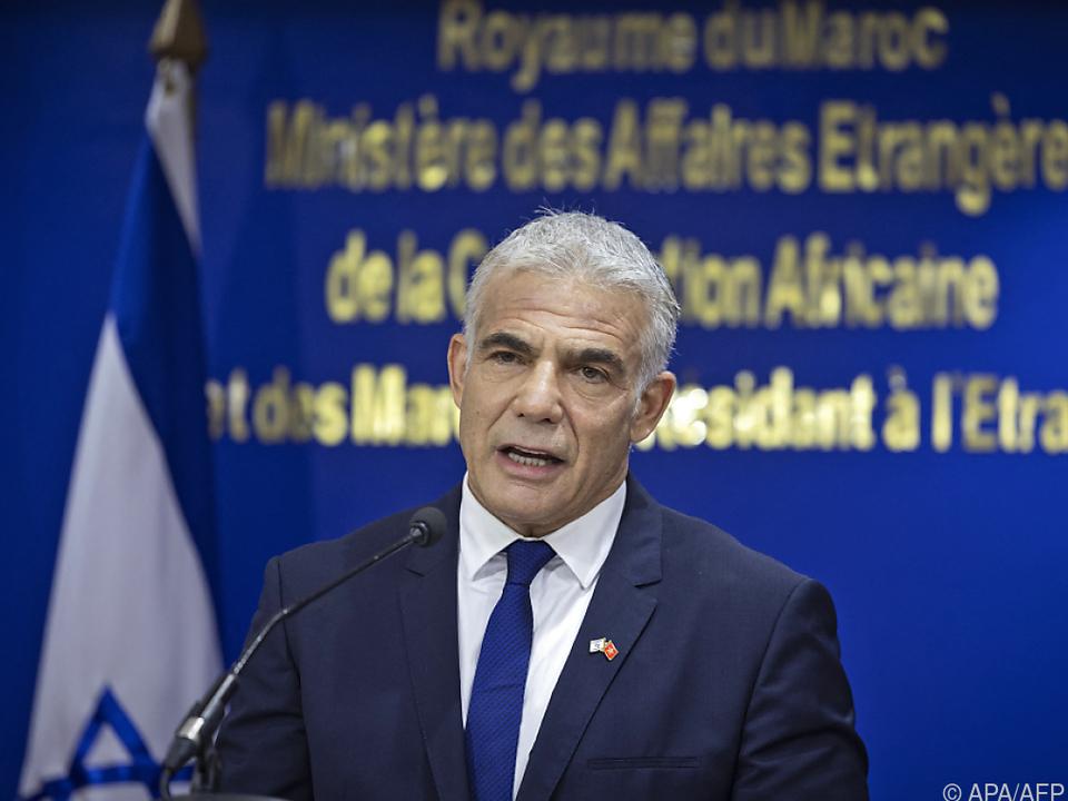 Israels Außenminister Lapid rief Botschafter zu Beratungen zurück