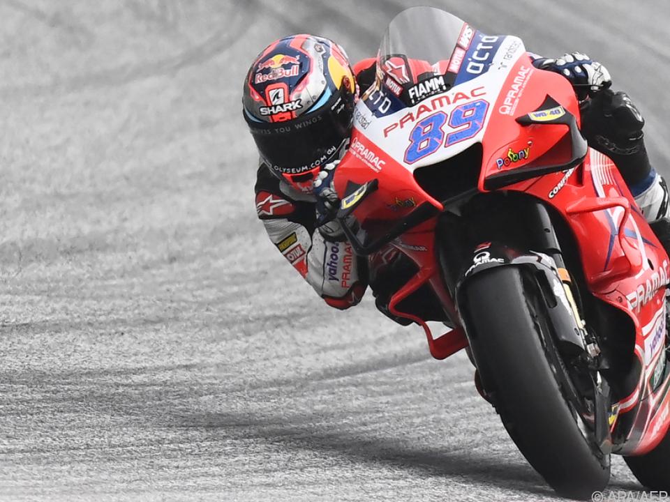 Jorge Martin siegte im ersten Österreich-Rennen
