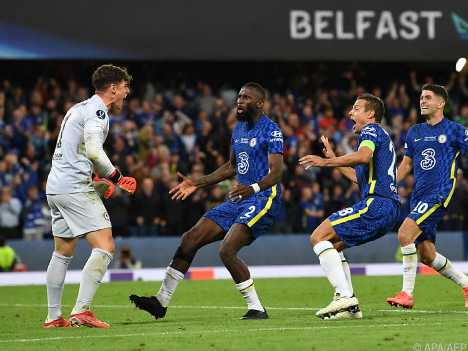 Kepa hielt den Supercup-Sieg für Chelsea fest