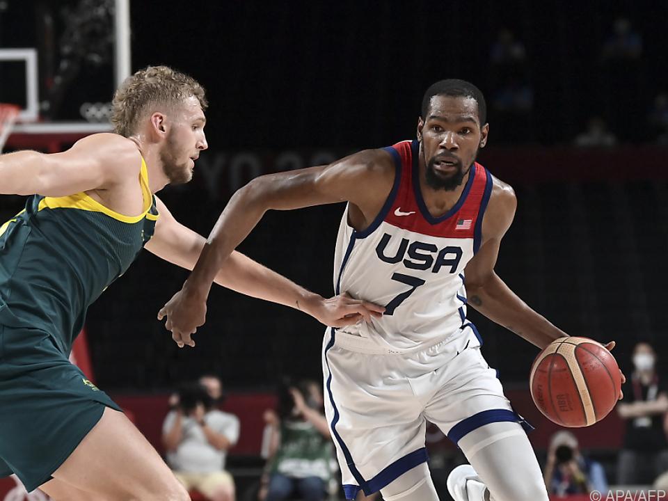 Kevin Durant glänzte mit 23 Punkten
