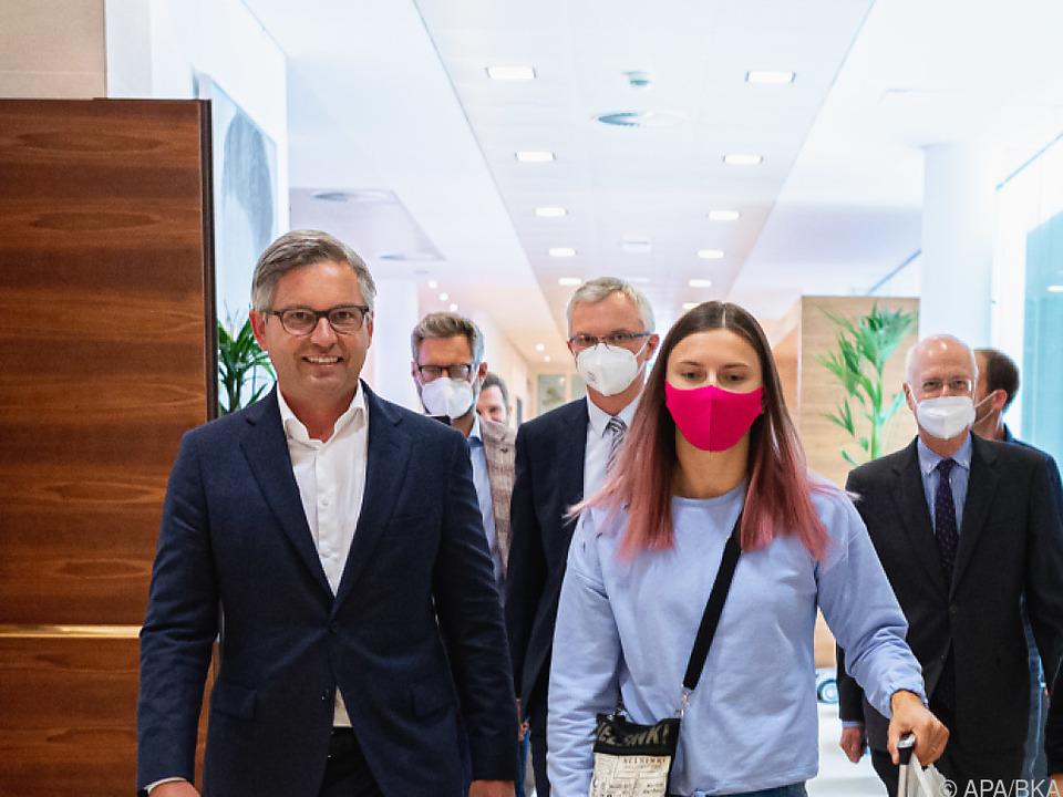 Kristina Timanowskaja will künftig für Polen starten