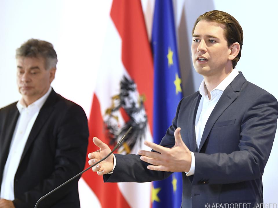 Kurz sieht keine großen Koalitionskrisen