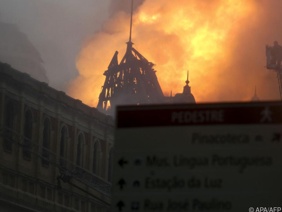 Kurz vor Weihnachten 2015 brannte das Museum aus