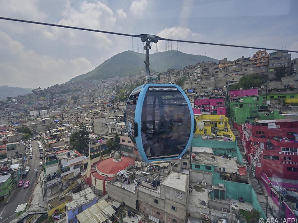 Längste städtische Seilbahn-Linie der Welt