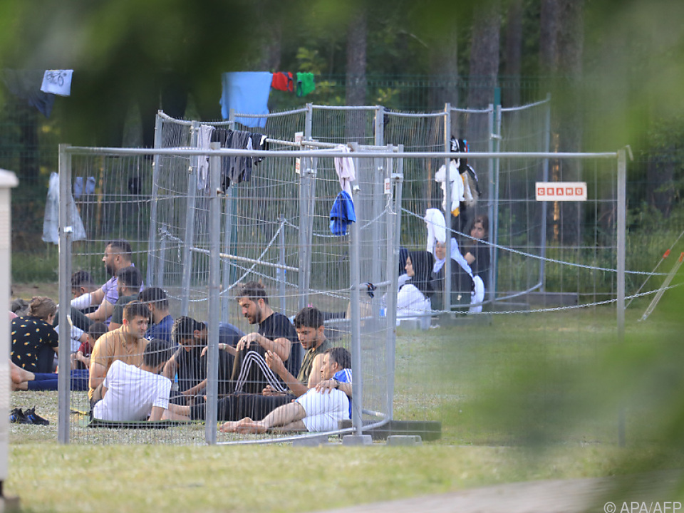 Lage an litauisch-belarussischer Grenze ist gespannt