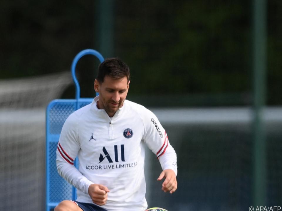 Lionel Messi scheint für sein PSG-Debüt bereit