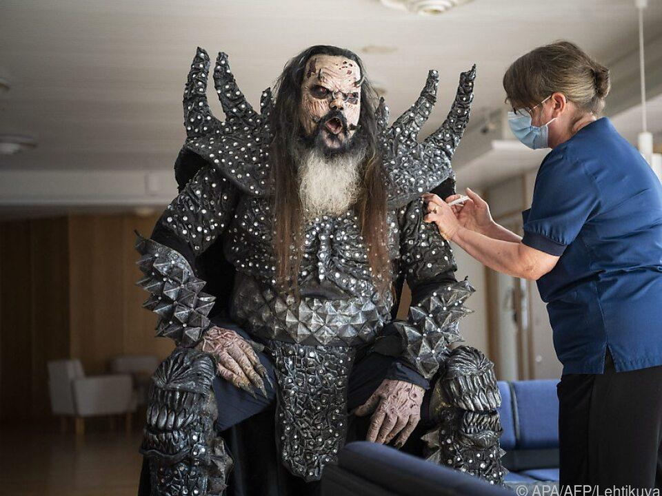 Lordi in seinem Bühnenoutfit