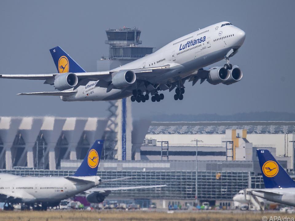 Lufthansa mit steigenden Fluggastzahlen