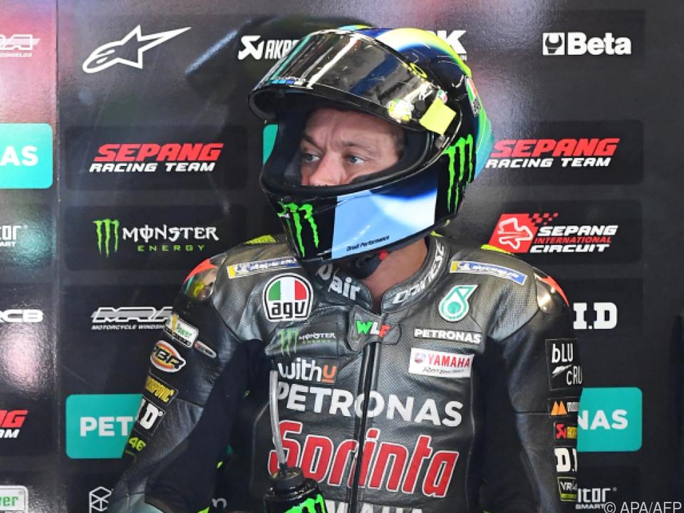 MotoGP-Star Rossi ist einmal noch in Österreich zu sehen