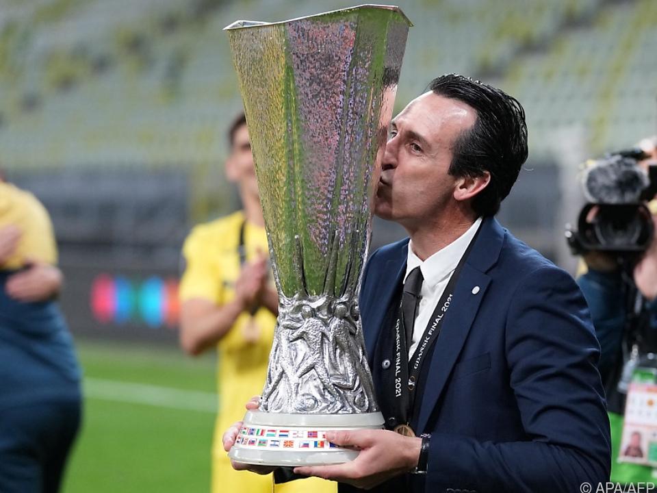 Mr. Europa League, Unai Emery, will nun auch den Supercup holen