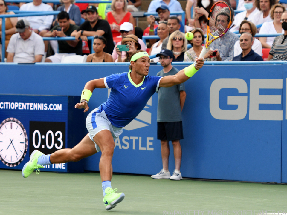 Nadal besiegte Jack Sock in drei Sätzen