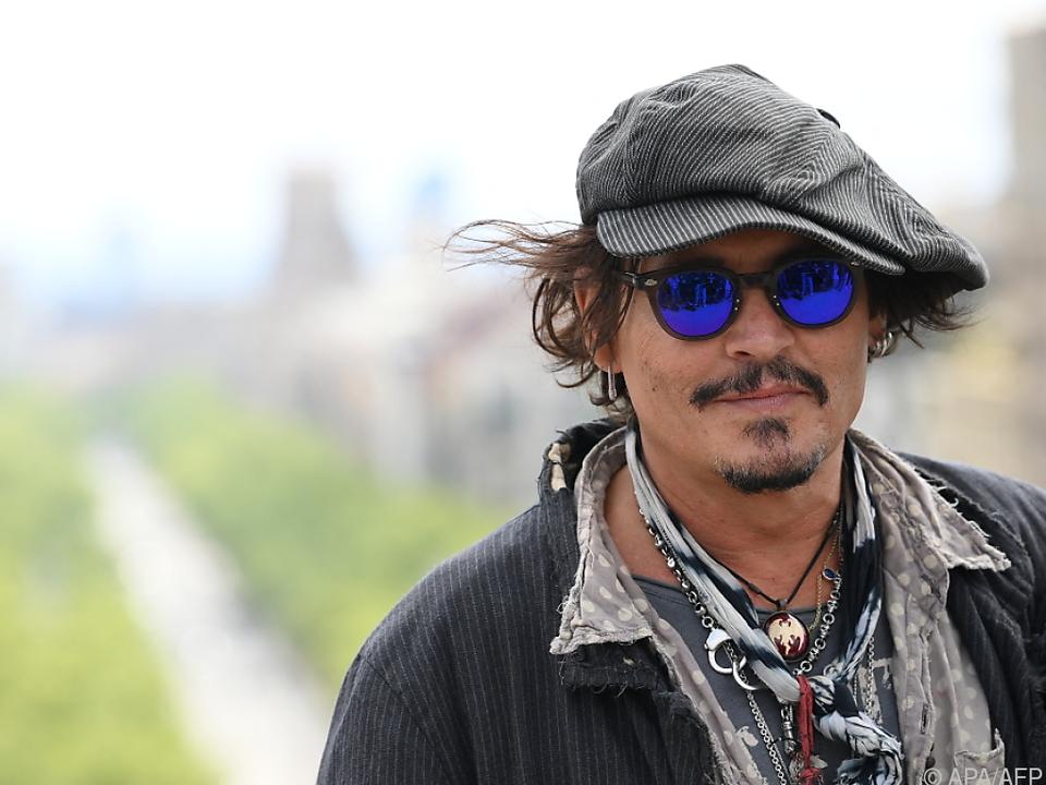 Nicht alle freuen sich über Johnny Depp