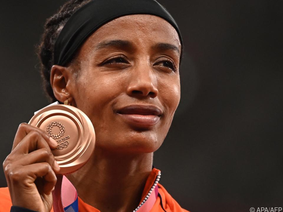 Nicht immer Gold -Niederländerin Sifan Hassan mit Bronze über 1.500 m