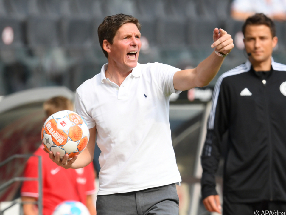 Noch läuft es für Glasner als Frankfurt-Trainer nicht optimal