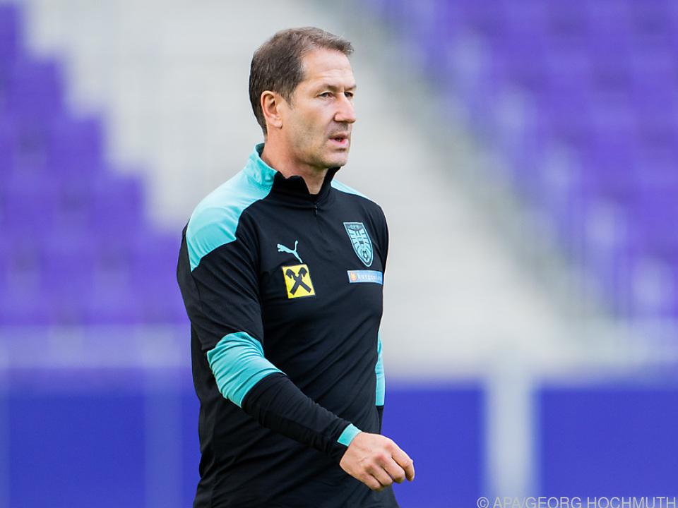 ÖFB-Teamchef Foda hofft auf Sieg in Chisinau