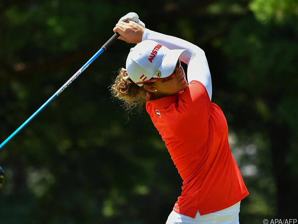 Österreichs Top-Golferin Christine Wolf